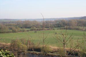 Blick über die Ruhrauen in Mülheim