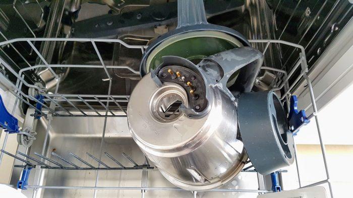 Der Thermomix in der Spülmaschine