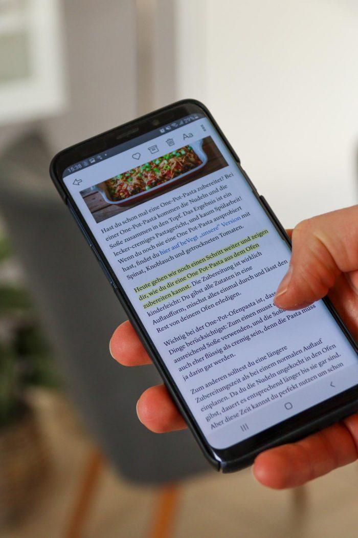 Kadaschi: Read-it-later mit Instapaper am Handy