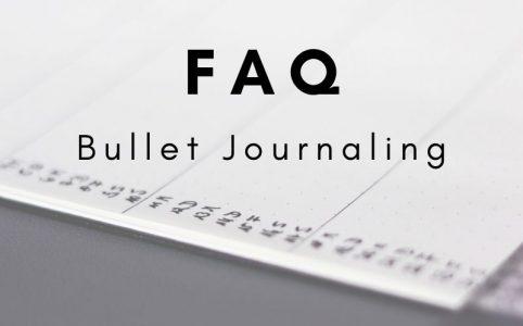Die häufigsten Fragen zum Bullet Journaling (FAQ)